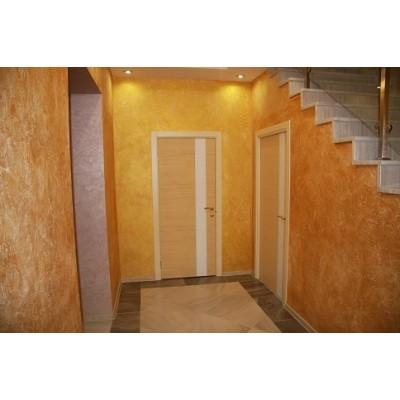 Отделка стен в коридоре и прихожей