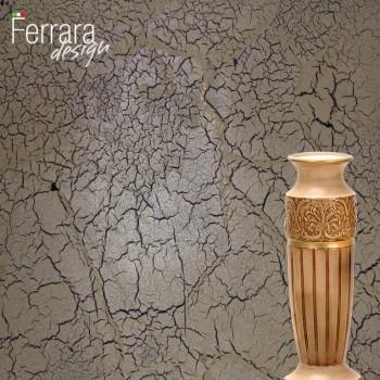 Венецианская штукатурка с эффектом кракелюра
