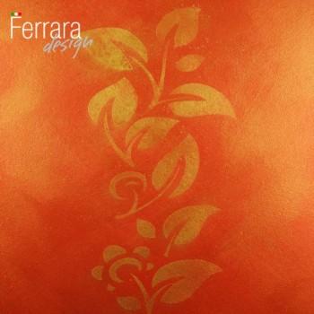 Декоративная краска красное золото