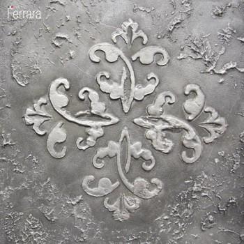 Фактурная штукатурка старое серебро