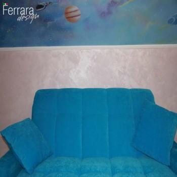 Художественная роспись на стенах и потолках